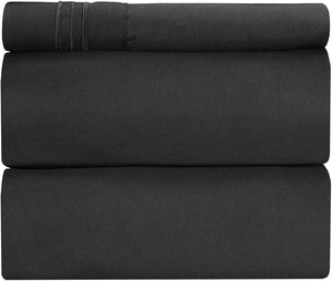 Twin Sheet Set - 3 Piece - College Dorm Room Bed Sheets