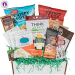 Low Carb KETO Snacks Box: Low Sugar High Fat Ketogenic Diet Snacks, Cookies, Protein Bars, Beef Sticks & Pork Rinds, Premium Keto Gift Care Package