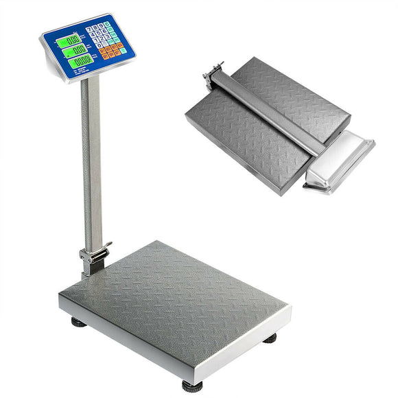 660 lbs Weight Platform Scale Digital Floor Folding Scale