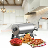 3.6 L Sausage Stuffer Maker Meat Filler Machine