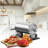 4.8 L Sausage Stuffer Maker Meat Filler Machine