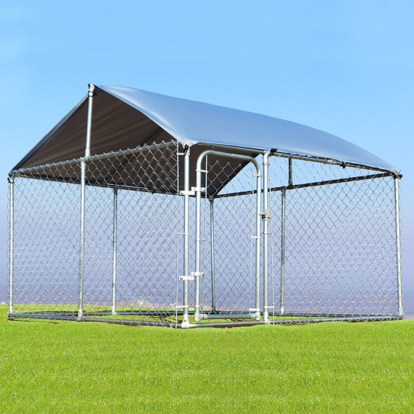 7.5' x 7.5' Large Pet Dog Run House Kennel Shade Cage Kennel cover
