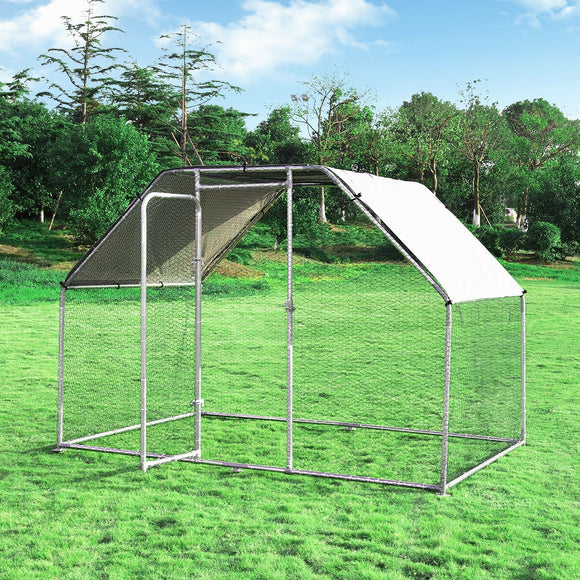 9.5' x 6.5' Large Walk In Chicken Run Cage