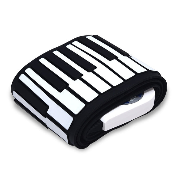 88 Keys Midi Electronic Roll up Piano Silicone Keyboard