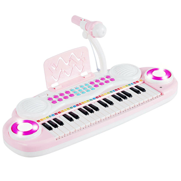 Multifunctional 37 Electric Keyboard Piano with Microphone