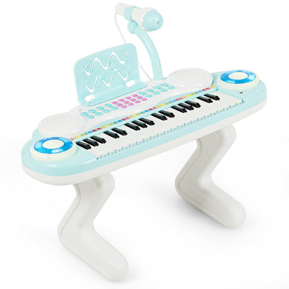 37-key Kids Toy Keyboard Piano with Microphone