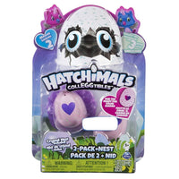 TOYS R US EXCLUSIVE OWLICORN Hatchimals CollEGGtibles Season 2 2-Pack + Nest