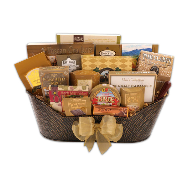 V.I.P. Gift Basket - Show Your Appreciation With This Flawless Gift Idea