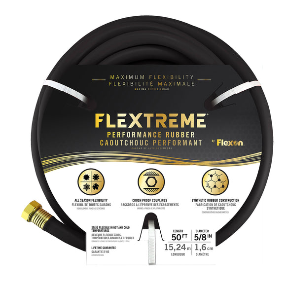 Flexon 50ft Flextreme Performance Rubber Hose