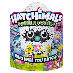Hatchimals Fabula Forest featuring Puffatoo with Bonus Hatchimals CollEGGtibles