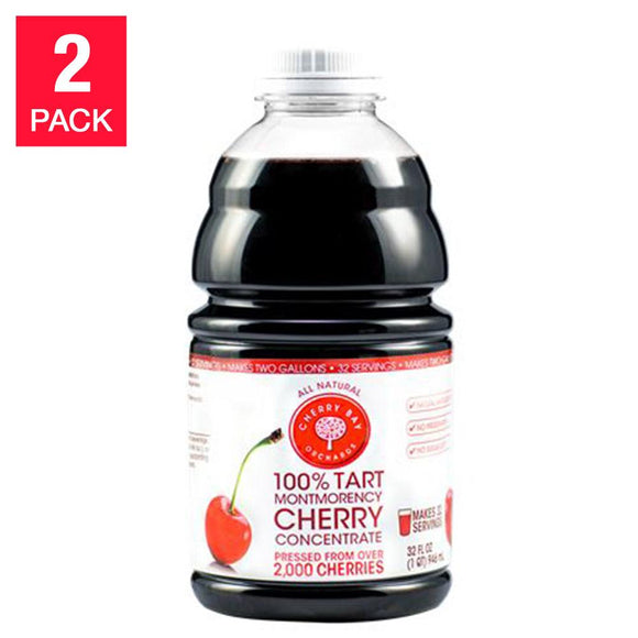 Cherry Bay Orchards Tart Cherry Concentrate 32 fl. oz., 2-pack