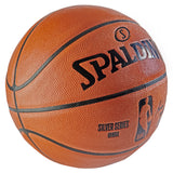 Spalding NBA Game Ball Replica Silver Series Basketball