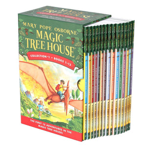Magic Tree House Collection 1: 1-15 Book Box Set by Mary Pope Osborne