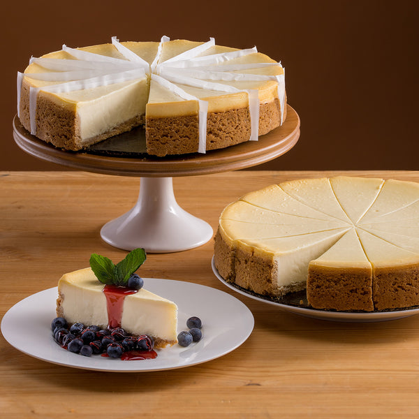 David's Cookies New York Style Cheesecake, 2-pack