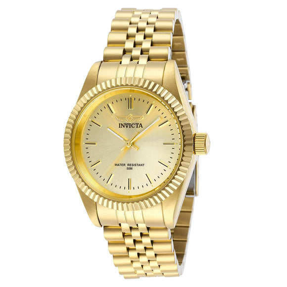 Invicta Specialty Gold-Tone Ladies Watch