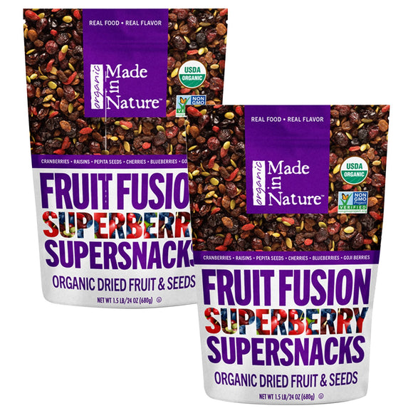 Made in Nature Organic Berry Fusion 24 oz, 2-pack
