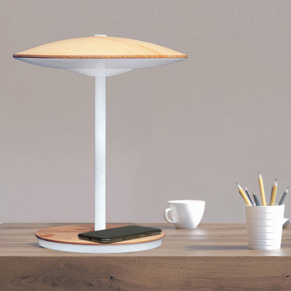 UltraBrite DOME LED Desk Lamp with Wireless Charging Pad