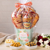 Popcornopolis Popcorn Thinking of You Basket, 5-count