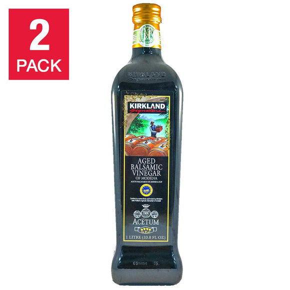Kirkland Signature Balsamic Vinegar 1L, 2-pack