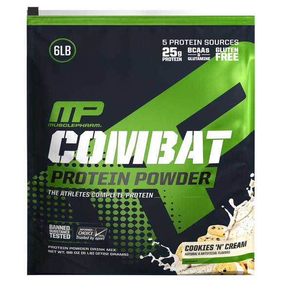 Muscle Pharm Combat Protein Powder, 6-pounds