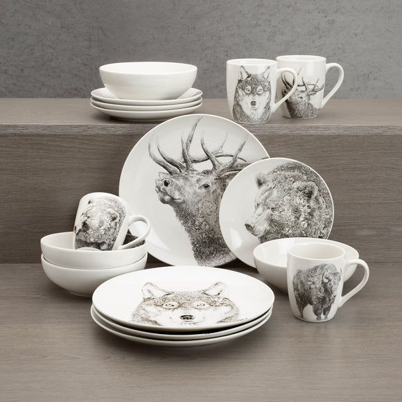 Maxwell & Williams 16-piece Great Outdoors Dinnerware Set