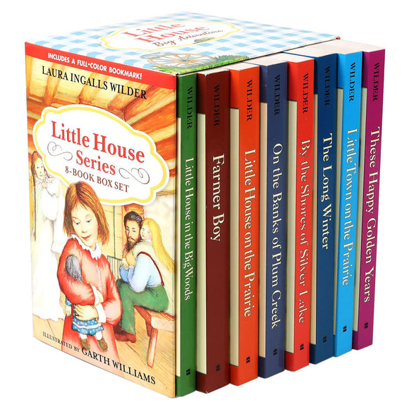 Little House Series: 8 Book Box Set by Laura Ingalls Wilder