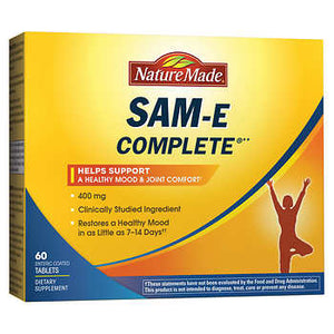 Nature Made SAM-E Complete 400 mg., 60 Tablets