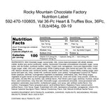Rocky Mountain Chocolate Factory Valentine's Day Hearts & Truffles