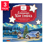 Le Chic Patissier, German Cinnamon Star Cookies, 21.16 oz, 3-count