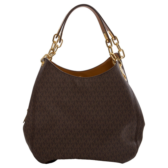 Michael Kors Fulton Large Shoulder Tote, Brown