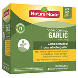 Nature Made Odor Control Garlic, 300 Tablets