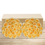 50-stem Pale Yellow Roses
