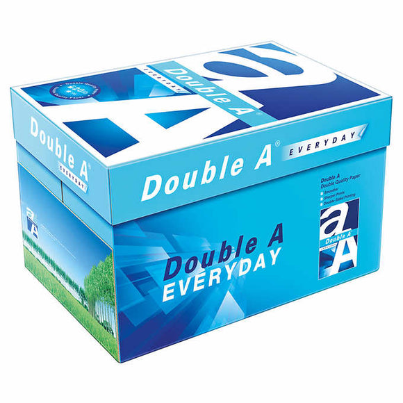 Double A Mill Branded Copy Paper, 8.5