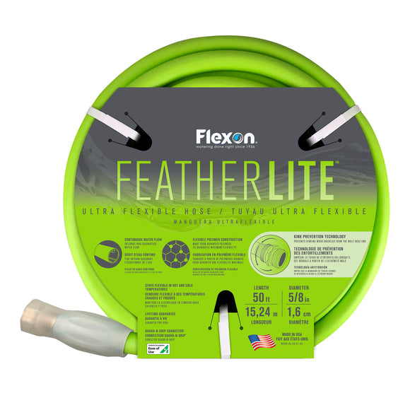 Flexon 50ft FeatherLITE Hose with Swivel Male Coupling