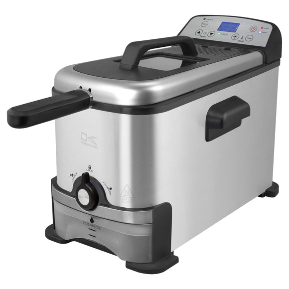 Kalorik Digital Deep Fryer with Oil Filtration 3-Liter