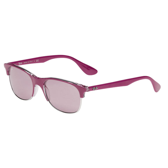 Ray-Ban RB4319 Pink Transparent Sunglasses
