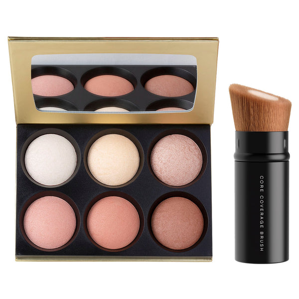 bareMinerals You Had Me at Glow Highlighter Palette & Core Brush