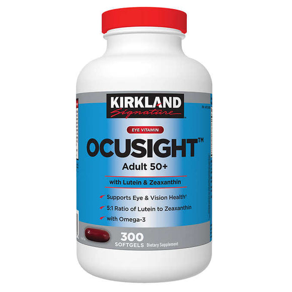 Kirkland Signature Ocusight Adult 50+, 300 Softgels