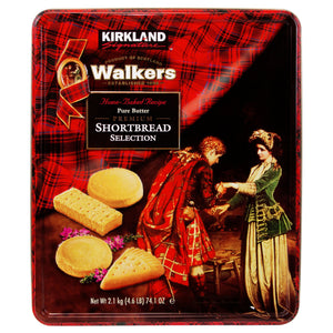 Kirkland Signature Walkers Premium Shortbread Selection, 4.6 lbs.