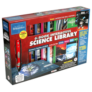 Encyclopedia Britannica: 6 Book Interactive Science Library