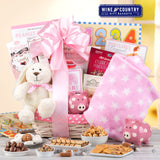 New Arrival Baby Girl Gift Basket