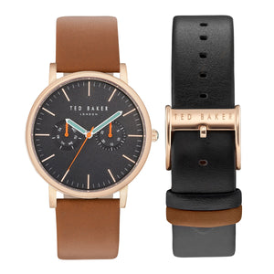 Ted Baker Rose Gold-Tone Men's Watch
