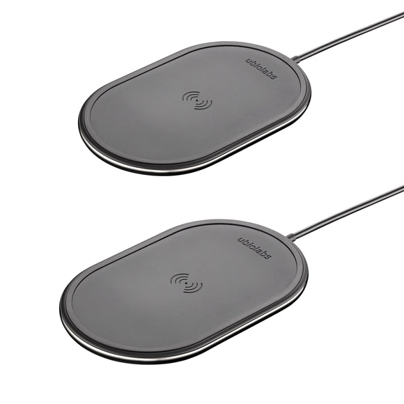 Ubio Labs 10W Qi Wireless Charging Pad 2-pack
