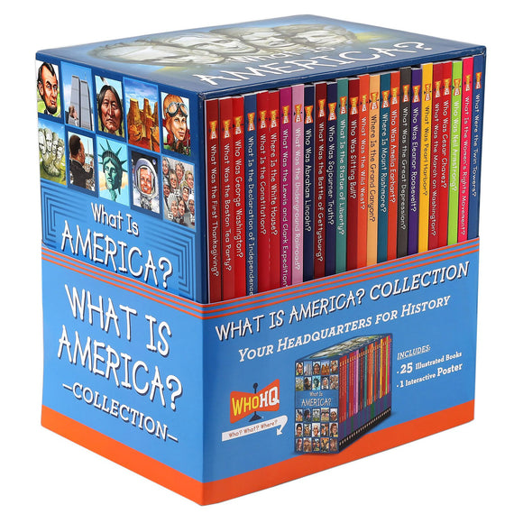 What Is America?: 25 Book Collection