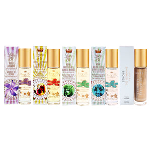 Lucy B's 5-piece Roll-on Perfume Oil & Bronze Shimmer Oil Set