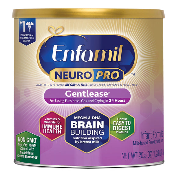 Enfamil NeuroPro Infant Gentlease Formula 20.5 oz, 6-pack