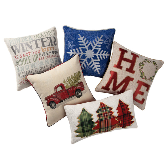 Brentwood Holiday Decorative Pillow Collection