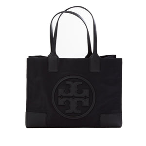 Tory Burch Ella Mini Tote, Black