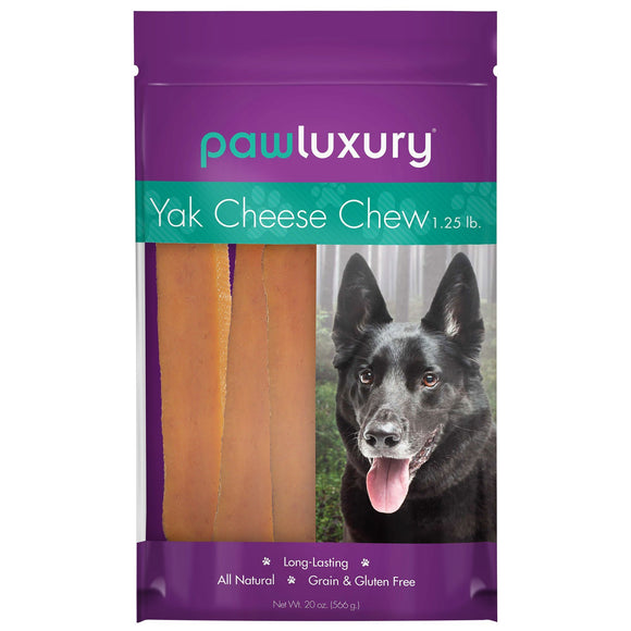 Pawluxury Yak Cheese Chew, 20 oz