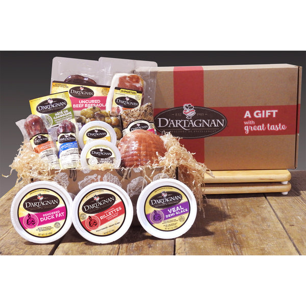 D'Artagnan Gourmet Food Lover's Gift Collection